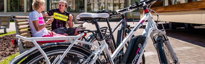 cyclists ice cream stop